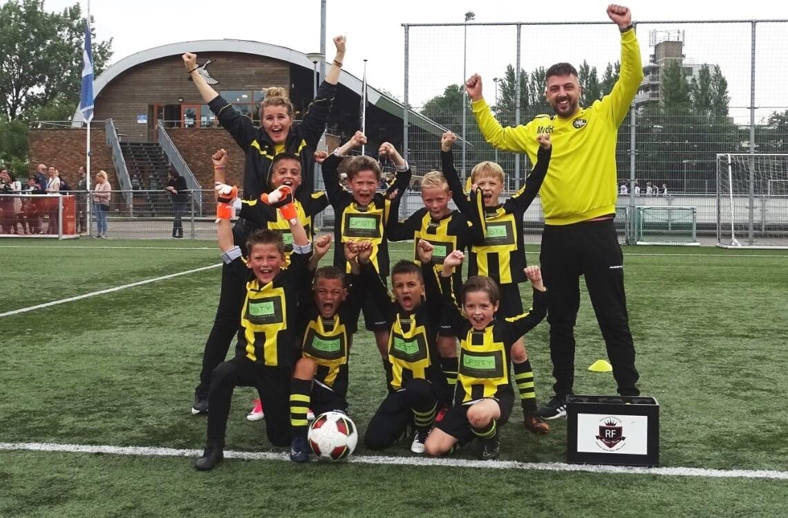 VFC JO8-1 winnaar KNVB Regio Cup Hoofdklasse C